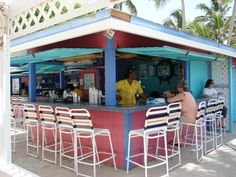Hope Town Harbour Lodge Bar  Abaco Bahamas -- My favorite bar in all the world!