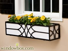 The Falling Water Window Box Cage (Square Design) This is the design of my 3 boxes