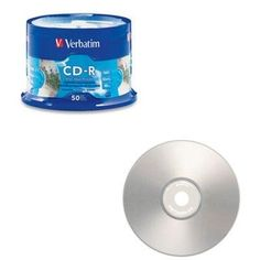 CD-R 52X silver inkjet print by Verbatim. $18.07. CD-R 52X silver inkjet printCD-R 80min 700mb 62x silver injet printalble 50 pk spindle***This item is expected to deliver in 4-10 business days. Tracking information is usually sent within 3-5 business days from the date of the purchase. This item does not ship to Alaska or Hawaii. The item also does not ship to P.O. boxes or APOs.***