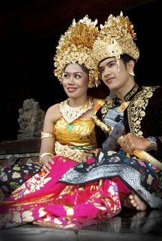 Balinese Wedding I Love Indonesia Costumes Bali Borneo