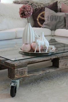 Naifandtastic:Decoración, craft, hecho a mano, restauracion muebles, casas pequeñas, boda: Inspiración: Mesas a partir de palés de madera