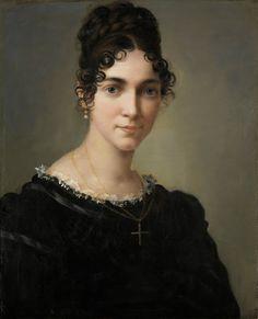 Marie Ellenrieder Self-portrait Oil on canvas 1818