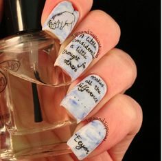 Eeyore nails would love to try them