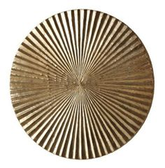 Apollo Metallic Silver Modern Wood Circle Wall Art Decor- Medium by Kathy Kuo Designs. $276.00. 18 inches diameter x 3 inches deep. Constructed out of metal and wood. Weight: 3.6 lbs.. Finished in metallic silver. Looking for a wow inducing piece? This striking metal and wood plaque certainly creates a lot stir. Evoking mid century op art and Asian metal gong without effort, this medium sized plaque delivers a seriously big statement.. Save 20% Off!