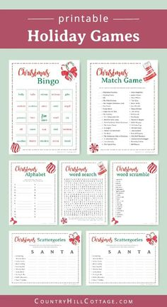 Christmas Trivia Games, Christmas Party Games For Adults, Christmas Activities For Families, Fun Christmas Party Games, Printable Christmas Games, Xmas Games, Christmas Games For Family, All Family, Christmas Parties