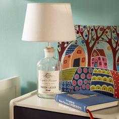 Los #detalles hacen la diferencia. #Lámpara #botella #Homy