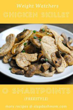 Weight Watchers Dinner: Chicken Skillet