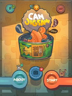 app work - JIGSAW CAN by bibo X, via Behance