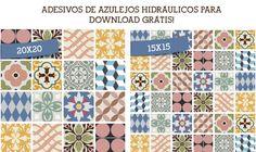 Ladrilhos hidráulicos na decoração..... http://www.acasaqueaminhavoqueria.com/ladrilhos-hidraulicos-na-decoracao-e-um-presentinho-pra-voces/