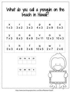 3rd Grade Math: Multiplication Practice