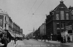Harrow Road • Junction with Bravington Road • 1920s