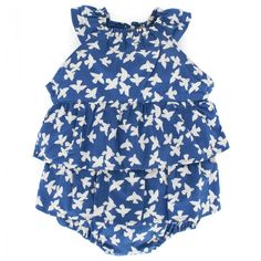 Stella McCartney Kids Cornflower Blue Bird Body