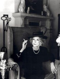 Bette Davis by Greg Gorman