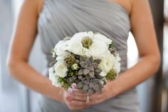#succulents #Bouquets #modern | Photography by ArchetypeStudioInc.com |  Floral Design by floralevents.com |   Read more - http://www.stylemepretty.com/2013/07/11/houston-wedding-from-archetype-studio-inc/