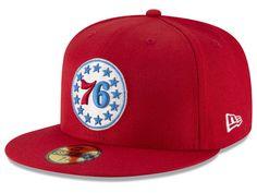 acf8e90b68d Philadelphia 76ers New Era NBA Solid Team 59FIFTY Cap