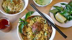 In cultures around the world, noodles are an integral part of everyday life, from waiting two hours outside of a ramen stall in Japan to the instant form that's become a college rite of passage. Read on for some of the best noodle dishes in Los Angeles County.