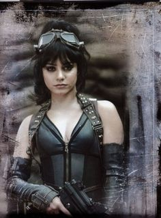 Blondie from Sucker Punch images Warrior Woman! wallpaper and background photos of Vanessa Hudgens' character