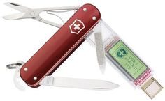 """got to have this!!!  Swiss army knife with a 1 TERABYTE flash drive.  Yes, I am a geek, but how freaking awesome is that?!  """"oh, is that a knife in your pocket, or are you just happy to see me?  No woman, that is a freaking TERABYTE in my knife, in my pocket!"""""""
