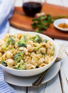 Cashew Alfredo Pasta with Broccoli Recipe on Yummly. @yummly #recipe