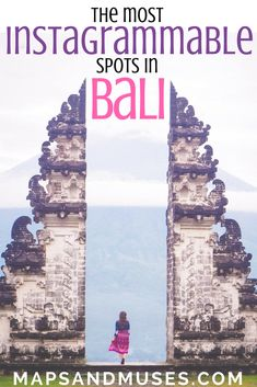 Some of the most Instagrammable places in Bali, Indonesia felt like they were literally made for getting the perfect Instagram shot. Here are 6 famous spots: https://www.mapsandmuses.com/most-instagrammable-places-in-bali/ | Bali Indonesia | Bali Travel | Bali Photography | Bali Pictures | Instagram Picture Ideas | Indonesia Travel | Photography #bali #baliislife #instagram #photographytips via @mapsandmuses