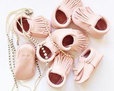 MINI MOCK handmade moccasins for cute babies