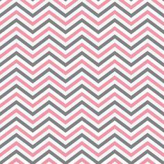 Papel de parede estampa Chevron nas cores rosa, cinza e branco. Inspirado no iconico design italiano Missoni. Produto lavável e de fácil aplicação.