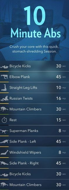 10 minute abs!