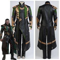 Thor The Dark World Avengers Loki Halloween Uniform Suit Outfit COSplay Costume Loki Halloween Costume, Loki Costume, Halloween Outfits, Women Halloween, Disney Halloween, Halloween Party, Thor Cosplay, Traje Loki, Halloween Kleidung