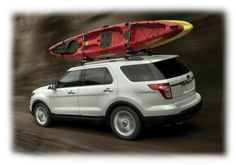 The 2015 Ford Explorer is able to take on city and highway roads, but it also has the ability to tackle off-road trails with ease.