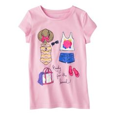 5d0eb7fccf126 Cherokee® Girls Tee Only Girl