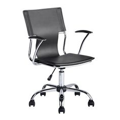 Porch Amp Den Swiss Mesh Home Office Chair Gray Products