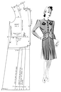 Haslam System of Dresscutting (Book of Draftings No. 19) -- Vintage Pattern Making for 1940s Fashions: G.A. Haslam: 9781936049653: Amazon.co...