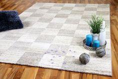 Designer Teppich Faro Creme Karo Contemporary, Rugs, Creme, Home Decor, Carpet Design, Nursery Ideas, Types Of Rugs, Homemade Home Decor, Rug