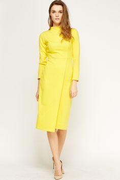 Wrap Hem Midi Dress for £5 @ Everything5pounds.com