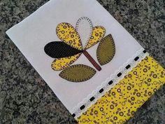 Applique Towels, Applique Patterns, Felt Patterns, Applique Designs, Sewing Patterns, Dish Towels, Hand Towels, Tea Towels, Sewing Projects