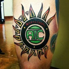 89 best alice in chains inspired tattoos images on