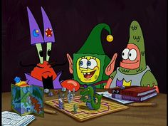 Art thou feeling it now Mr.Krabs? Haha this is a great moment!