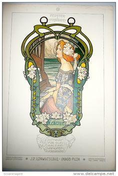 12 PRINTS 1903 J.P. KRAWUTSCHKE - IMAGP PICTA - LITHOGR. KUNSTSTADSTALT FREY U. SÖNNE ZÜRICH 49.5 X 33.5 CM - 12 SCANS