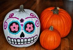 Sugar Skull Crafts for Halloween
