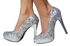 @Melissa Forbes I wish I could wear high heels these are so cute for prom..