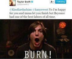 Haha Why I love Taylor