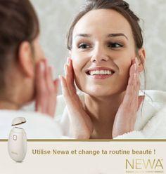 NEWA reconstitue le collagène de votre peau !