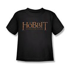 Hobbit Battle Of The Five Armies Logo Juvy T-Shirt