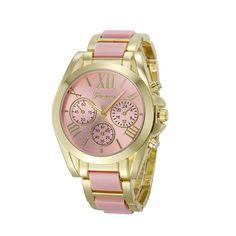 9b1aa9b9b41 Geneva Watch III. Relógio FemininoOuroRelógios ...