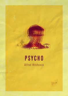 HITCHOCK POSTERS by Enzo Lo Re, via Behance