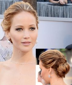 Reese Witherspoon, Naomi Watts, and Jennifer Lawrence 2013 Oscars Hair and Makeup How Tos - Shape Magazine