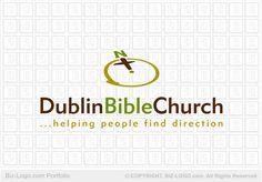 Logo Design: Compass Cross Church Logo