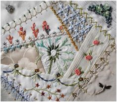 embroidery crazy quilt | Crazy Quilting, Beading, Embroidery 1. . . / I crazy quilting ...