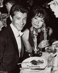 GEORGE CHAKIRIS and RITA MORENO both struck gold for supporting roles in West Side Story.