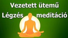 Légzőgyakorlat estére - Vezetett ütemű légzés meditáció [NAPI 5 PERC] The Body Book, Health 2020, Namaste, Serenity, Massage, The Cure, Meditation, Health Fitness, Medical